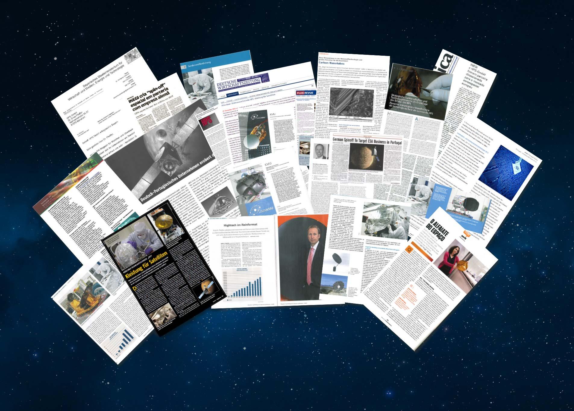 Collage-Presse
