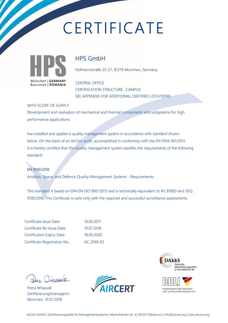 HauptZertifikat-9100_2016e-HPS-S1